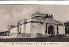 #ROMA: ESPOSIZ. 1911- VIGNA CARTONI- PADIGLIONE DELLA GERMANIA