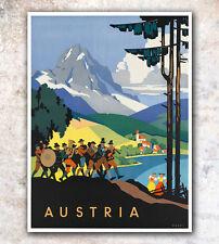 "Vintage Travel Poster Austria 11x14"" Rare Hot New A102"