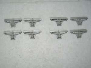 O Scale 7 mm - LNWR - 8 x Wagon Axle Guards/boxes - 6C