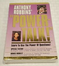 NEW SEALED Anthony Robbins Powertalk!  The Power of Questions Barbara De Angelis