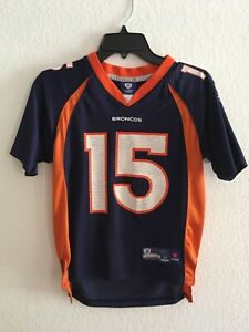 Denver Broncos NFL Replica Football Jersey (#15 Tebow) Youth Medium 10-12