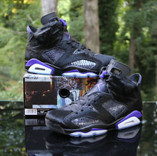 Air Jordan 6 Retro Social Status X Men's Size 10.5 Black Pony Hair AR2257-005