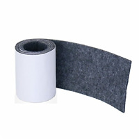 Felt Strip Roll Diy Self Adhesive Furniture Pads Heavy Duty Wood Floor Dark Gray