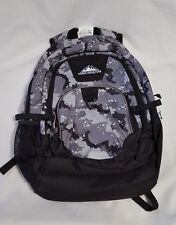 New Sierra Expedition Black Gray Backpack Laptop/Tablet Reinforced Base 5-6 Book
