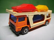 Matchbox Nr. 11,Autotransporter,Lesney 1976,guter Zustand......#21