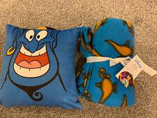 Aladdin Genie Cushion And Fleece Blanket Asda George NEW