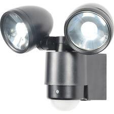 NEW Sirocco LED PIR Spotlight IP44 2 x 3W 480lm Each