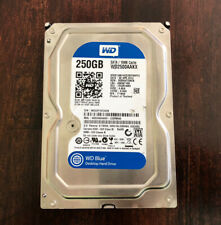 "250 GB SATA 3.5"" WD BLUE Desktop Hard Drive W/Windows 10 PRO installed"