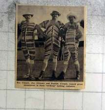 1961 Jim Gilmore, Roy And Patrick Cooper In Striking Bathing Costumes