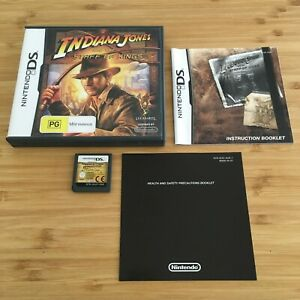 Indiana Jones And The Staff Of Kings | Genuine Nintendo DS Game | Aussie Seller