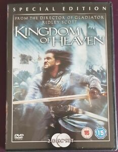 KINGDOM OF HEAVEN. SPECIAL EDITION. ORLANDO BLOOM HISTORICAL EPIC. 2 DVDS.
