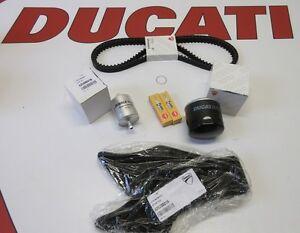 Ducati service kit 748  916 996 TIMING BELTS  FILTERS SPARK PLUGS 73710091B