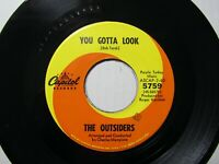 The Outsiders,You Gotta Look/Help Me Girl,Capitol,45