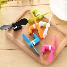 Lot Portable CellPhone Mini Fan Cooling Cooler For Mobile Android Cell Phone