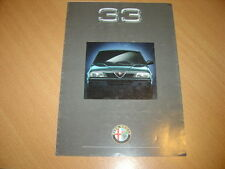 DEPLIANT Alfa Romeo 33 de 1991