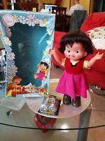 Rara Vintage Bambola Heidi y Pedro andadores Famosa Anni 70 in Box da Collezione