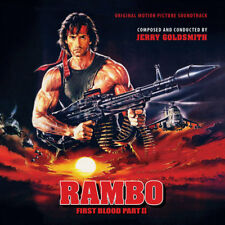 Rambo First Blood Part 2 Soundtrack 2CD Jerry Goldsmith 19CDR04