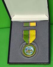 U.S. Army Service Commemorative Medal & Ribbon Cased set  - USA VETERAN