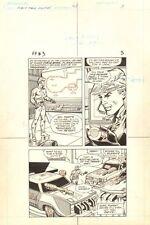 Flash Force 2000 #3 p.3 - Flash at the Base - Matchbox 1983 art by Sal Trapani Comic Art
