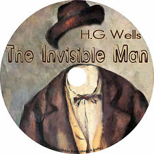 The Invisible Man, H. G. Wells Ultimate Classic Sci-Fi Audiobook on 1 MP3 CD