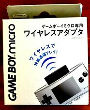 GAME BOY MICRO WIRELESS ADAPTER NINTENDO OFFICIAL GBM JAPAN BRAND NEW UNOPENED