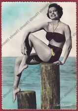 CYD CHARISSE 04 ATTRICE - ACTRESS IN A BATHING SUIT - CINEMA MOVIE USA FOTOGRAF.