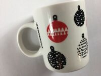 Starbucks Ornaments Mug Coffee Cup 2016 White Black Red 12oz Christmas Holidays