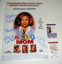 Turner Lake Lillard Cast Signed Serial Mom 12x18 Poster Photo JSA CERT free ship