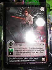 STAR WARS CCG JEDI KNIGHTS CARD MINT/N-MINT RARE LEIA ORGANA FOIL CARD 8 R