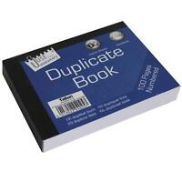 DUPLICATE Book - 1-100 Pages Numbered with 2 Sheets of Carbon Paper