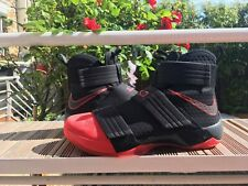 Chaussures de basketball Nike Lebron Soldier 10 Un-Cleated Red Toe Taille 47,5
