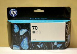HP 70 Genuine C9450a Ink Gray 130ml Date Oct 2021 Original