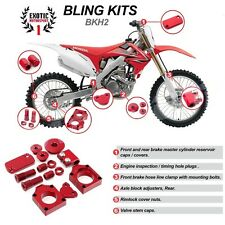 HONDA CRF250R RED BLING KIT  2009 2013  CRF 250 R 09-13