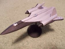 Built 1/200: American LOCKHEED SKUNKWORKS A-12 OXCART Spy Plane Aircraft