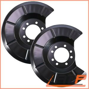 2X COVER PLATE FOR BRAKE REAR FORD C-MAX MK 1 07-10 FOCUS C-MAX 03-07