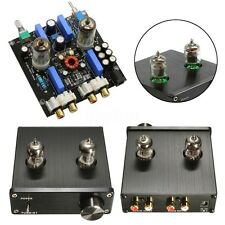 Audio Mini 6J1 Valve & Vacuum Tube Pre-Amplifier Stereo HiFi Buffer Preamp DC12V