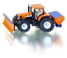 SIKU Farmer 2940 Holland T7070 Tractor With Snow Plough & Salt Spreader 1 50
