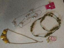 Lot of 3 fashion jewelry sets for ladies, womens, girls NEW