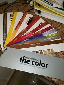 PAUL MITCHELL The Color MINI Swatch Book NEW SEALED
