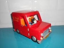17.9.10.10 Postman Pat Royal Mail Parcel Van Jouet Véhicule + Jess cat 1997