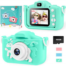 Unicorn Kids Camera for Girls Boys Toddler - Mini Digital Camera Toys for 3 4 5