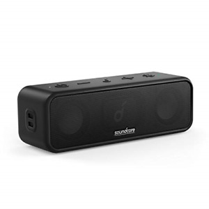 Soundcore 3 by Anker Soundcore, Bluetooth Speaker with Stereo Sound, Pure 24H