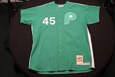 Mitchell & Ness #45 Tug McGraw Cooperstown Collection St. Pats Phillies Jersey