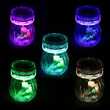 Colorful 10 LED RGB Submersible Vase Base Candle Tea Light Remote Waterproof New