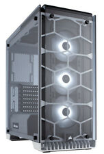 Corsair caja PC Crystal 570x RGB ATX Mid-tower blanca