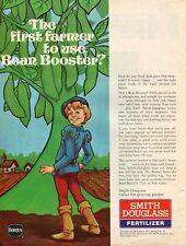 1973 Print Ad of Borden Smith Douglass Fertilizer Bean Booster Jack & Bean Stalk