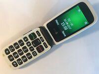 Doro Phone Easy 611 / 612 Graphite (Unlocked) Mobile Phone
