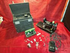 Vintage Singer Featherweight 221 Sewing Machine 1936 Early Antique