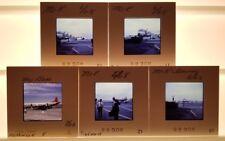Vtg Slides 1965/68 Commercial Airliners - Delta, Piedmont, Northwest