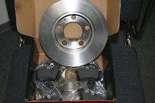 Bremsscheiben und Bremsbeläge mit Warnkontakt  AUDI A4 /A6 Satz vorne 288mm